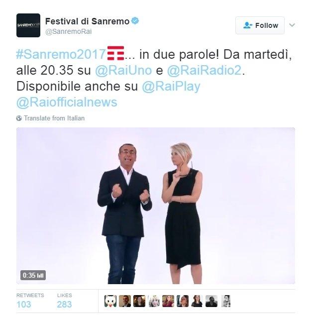 Sanremo TIM