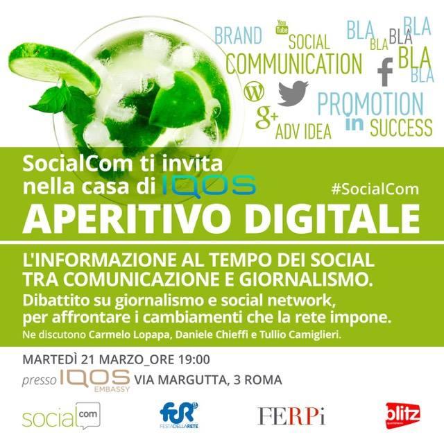 aperitivo socialcom 21 marzo