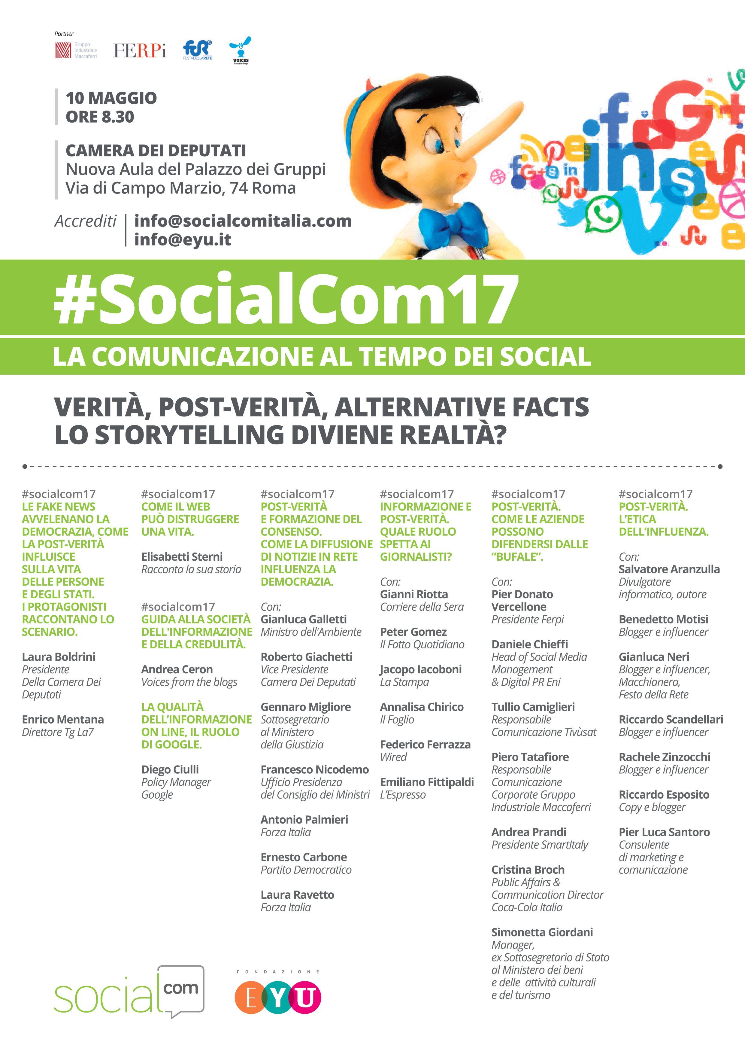 Programma socialcom17
