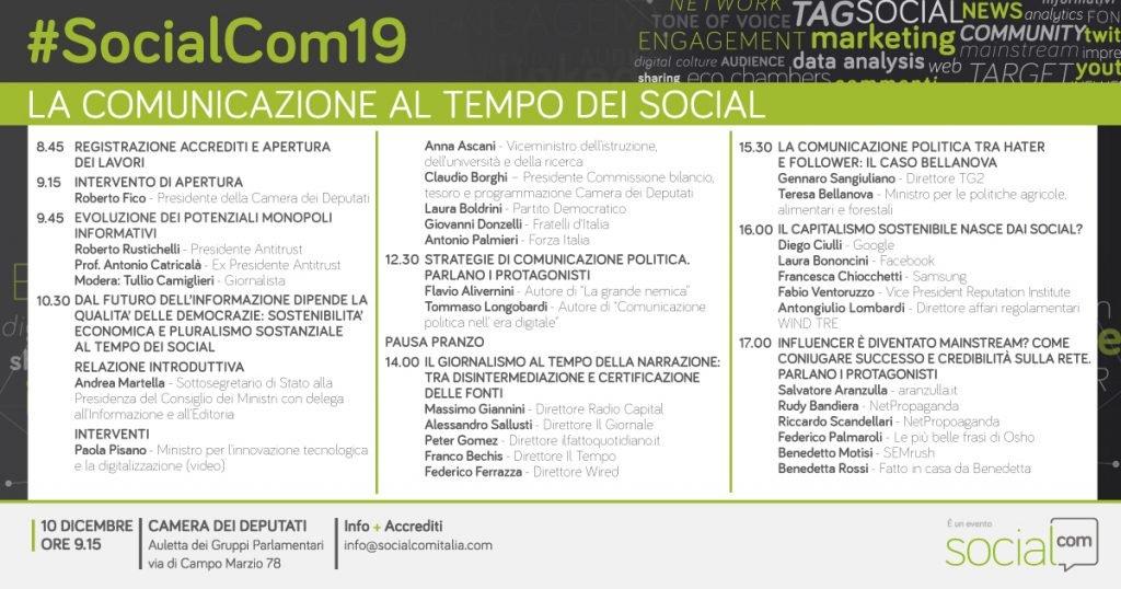 SocialCom19-Programma